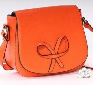 🎉HP!🎉 MoDA NY Tangerine Crossbody Bag